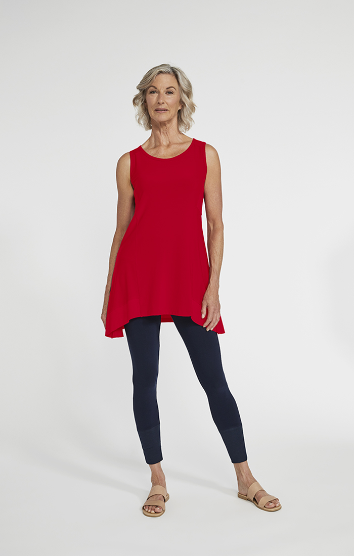 Sympli Womens Motion Trim Tank Style 21186, 3 Colors Available