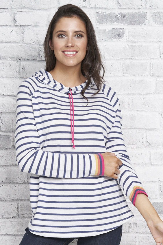 Parkhurst Pullover Style 84102 Rebecca Hoodie, 2 Colors Available