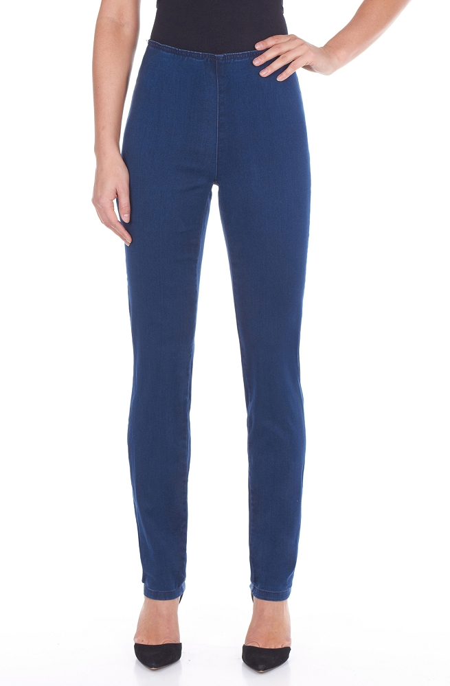 French Dressing Jeans Pull-On Super Jegging Style 226906N D-LUX Denim, 2 Colors Available
