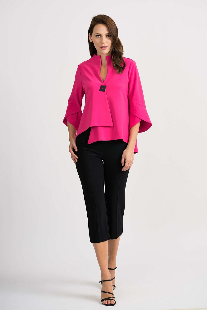 Joseph Ribkoff Womens Jacket Style 201444 Color Pink