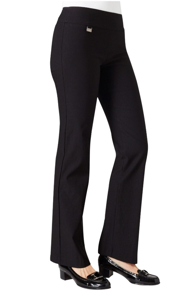 Lisette L Essentials, Mini Boot Cut Pants, Kathryn PDR, Style 17630, 6 Colors Available