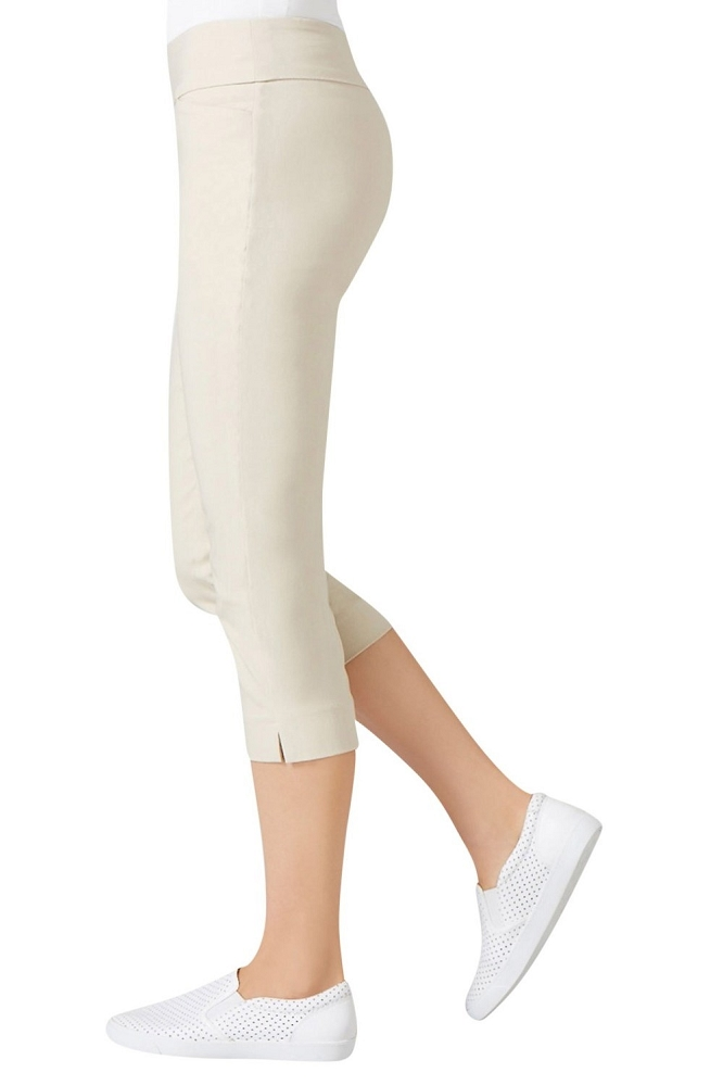 Lisette L Essentials, Capri Pants Style 26067 Jupiter Cotton Stretch (8 Colors Available)
