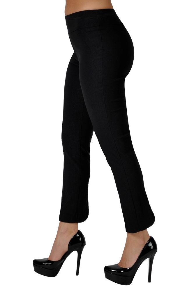Lisette L Essentials, Crop Ankle Pants, Magical Lycra, Style 804, 3 Colors Available