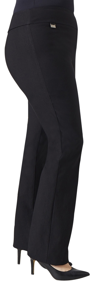 Lisette L Essentials, Plus Size, True Straight Pants Style LL1715, 5 Colors Available