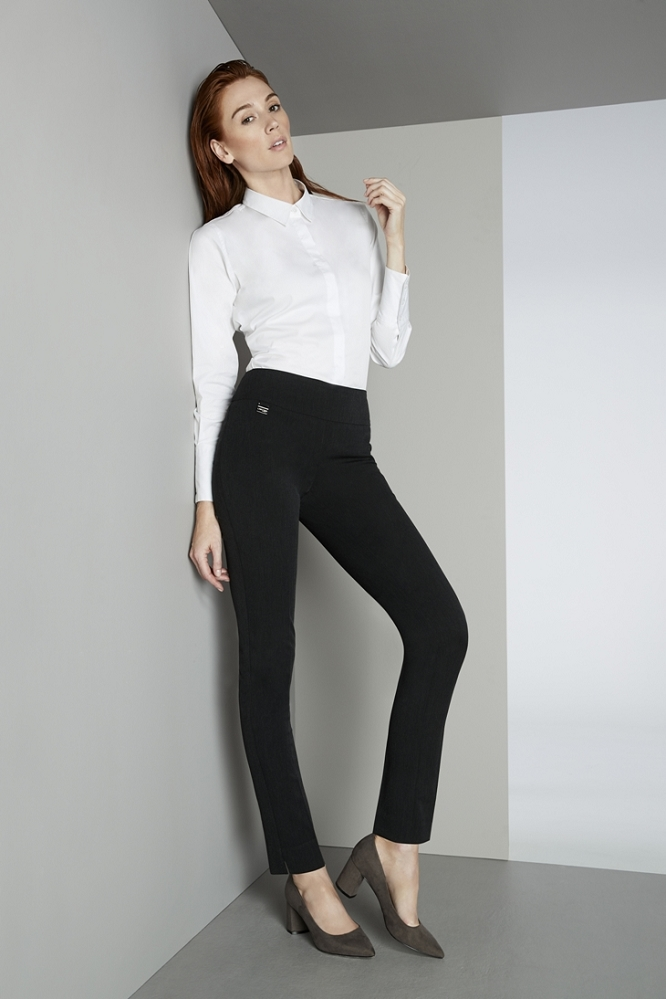 Lisette L Essentials, Skinny Leg Pants, Mila Stretch, Style 53105, 3 Colors Available