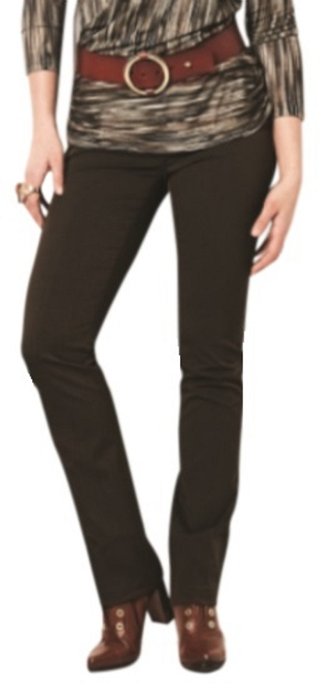 Lisette L Essentials, Skinny Leg Pants Gaby Stretch, Style 2229, 2 Front Pockets, 7 Colors