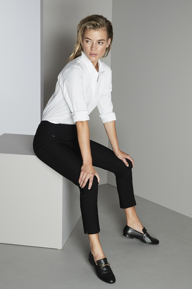 Lisette L Essentials, Slim Ankle Narrow Pants, Mila Stretch, Style 53155, 3 Colors Available