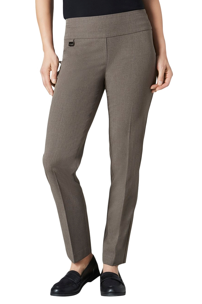 Lisette L Essentials, Slim Ankle Pants, Gaby Stretch, Style 2201, 9 Colors Available
