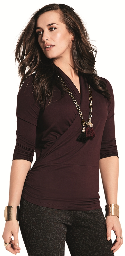 Lisette L Fall Tops Style 222339 Sienna Jersey (5 Colors Available)