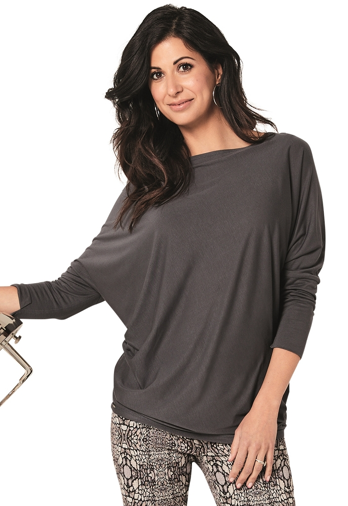 Lisette L Fall Tops Style 222338 Sienna Jersey (5 Colors Available)