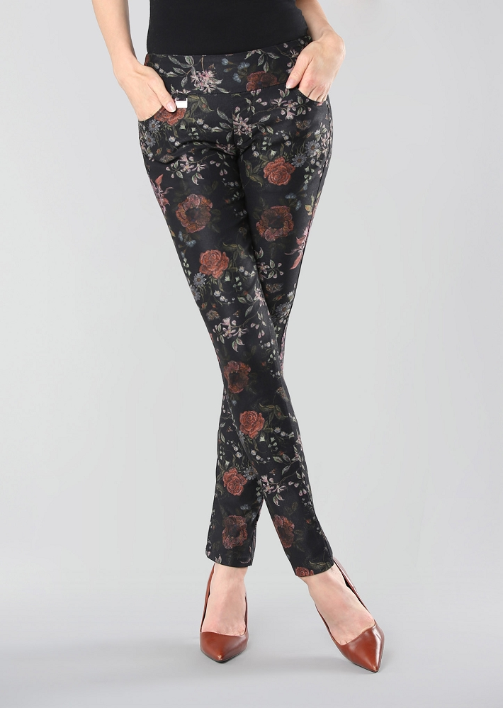 Lisette L. Thinny Pant Style 672644 Somerset Floral Color Black