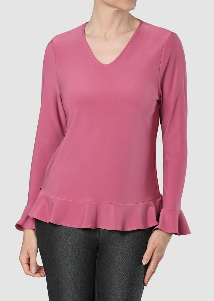 Lisette L Tops Style 171453 Emma Knit, 4 Colors Available