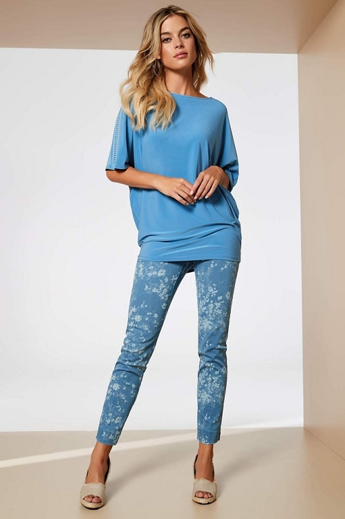 Lisette L. Slim Ankle Narrow Pant Style 36355 Bacopa Denim, 2 Colors Available