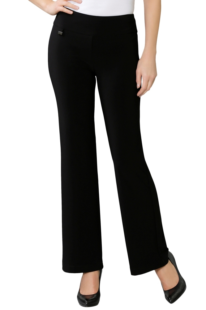 Lisette L Essentials, Skinny Palazzo Pants Style 171730 Emma Knit, Color Midnight Blue