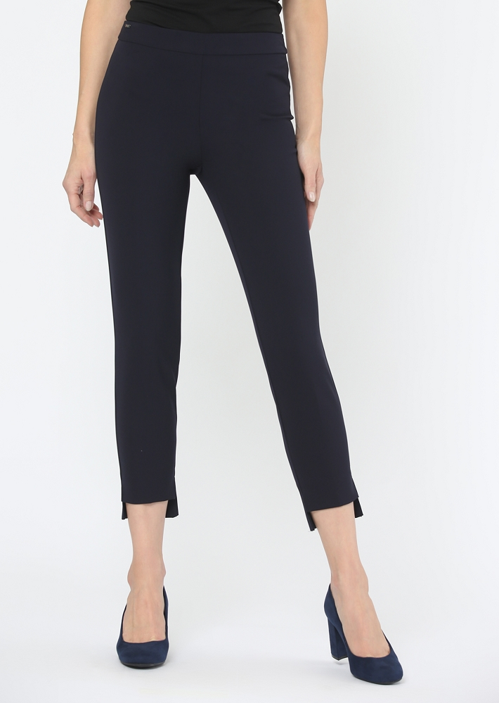 Lisette L. Hi-Lo Crop Ankle Pant Style 531879 Mila, 2 Colors Available