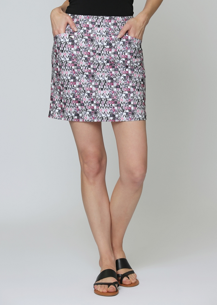 Lisette L. Skort Style 612720 Vogue Digital Color Multi