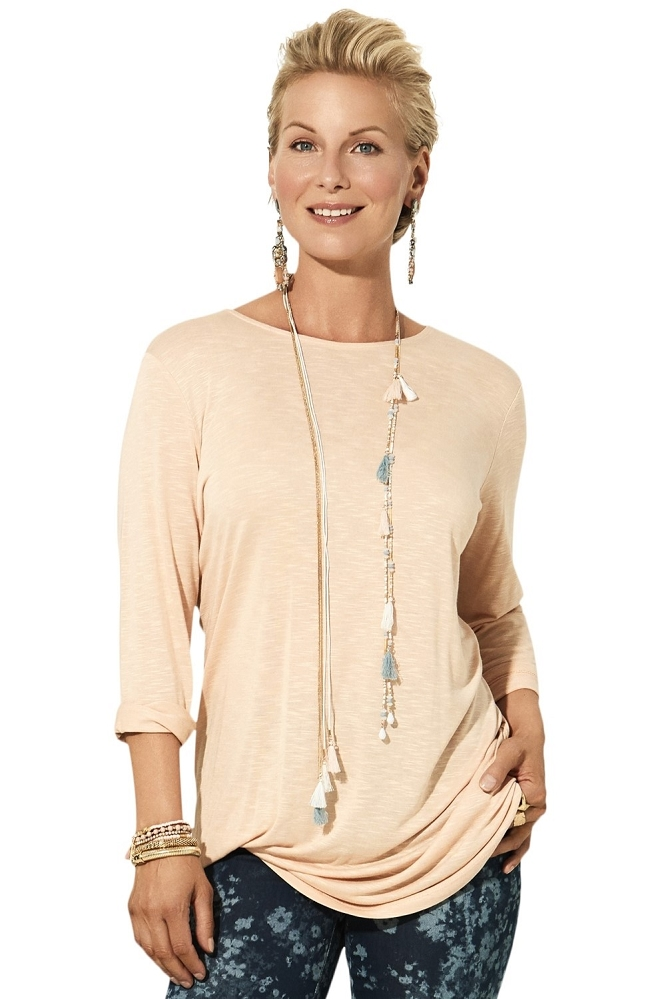 Lisette L Tops Style 231308 Linen Jersey (6 Colors Available)