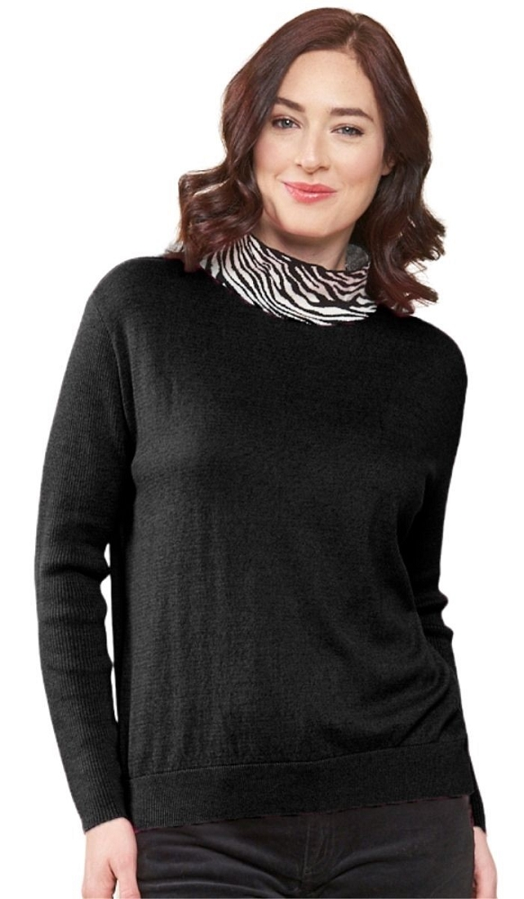 Parkhurst Canada, Kallee Pullover Style 74821, Color Black Available