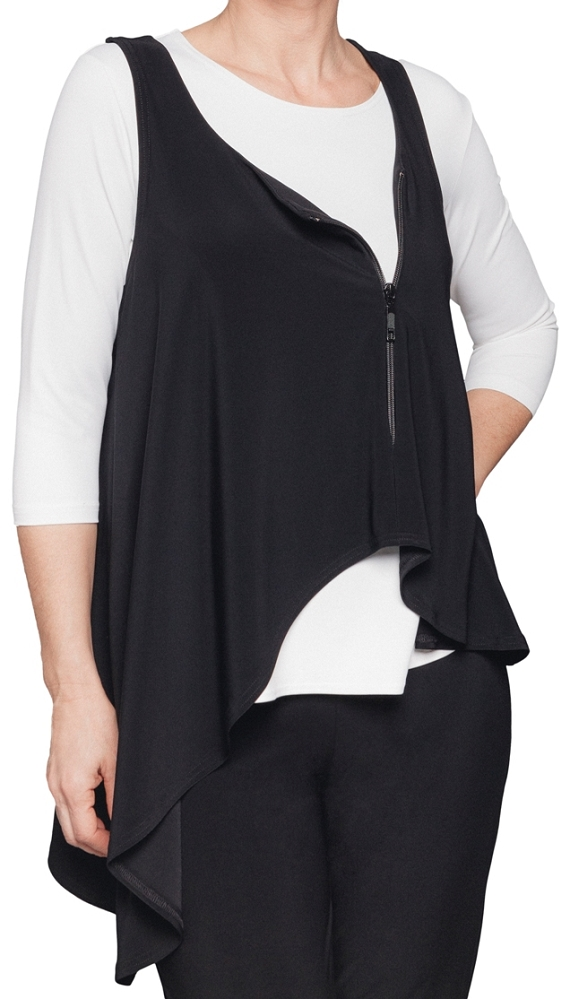 Sympli Womens Get Over It Smock Style 21143 Color Black