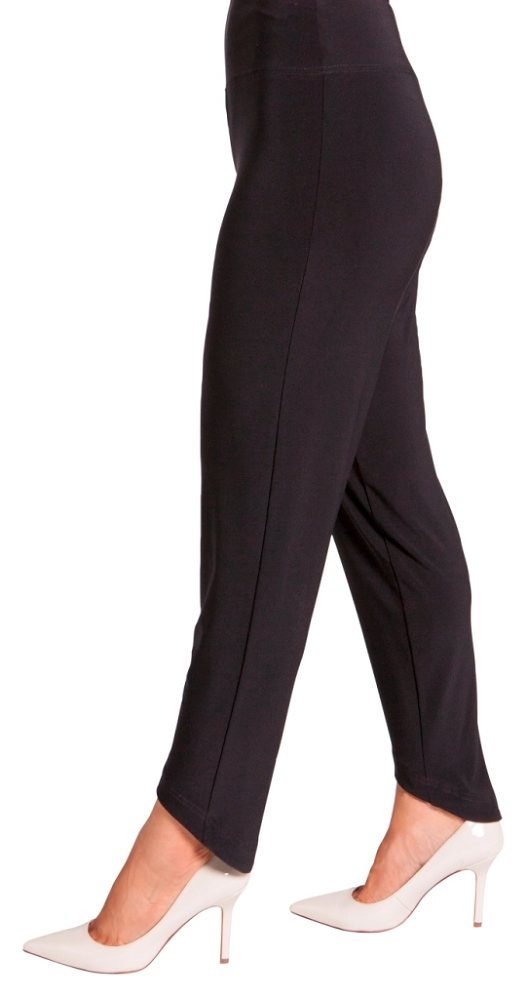 Sympli Womens Drop Ankle Pants Style 27105 Color Black