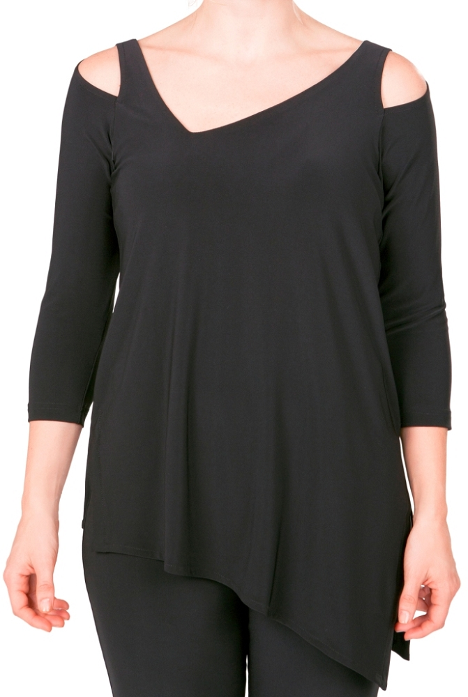 Sympli Focus Tunic 3/4 Sleeves, Style 2344-2, 5 Colors Available