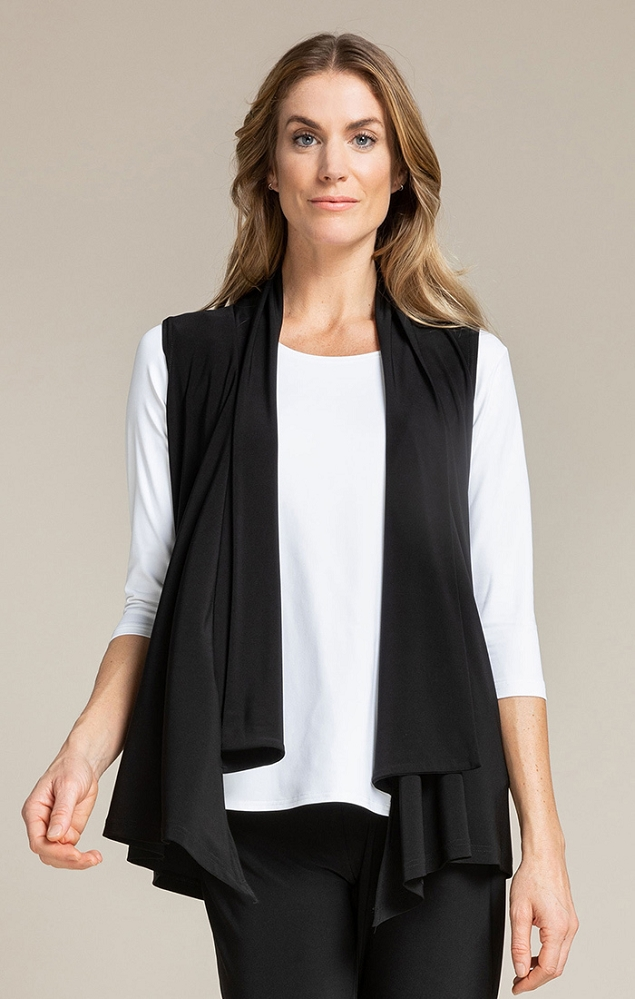 Sympli Womens Icon Shift Vest Style 21173, Color Black Available