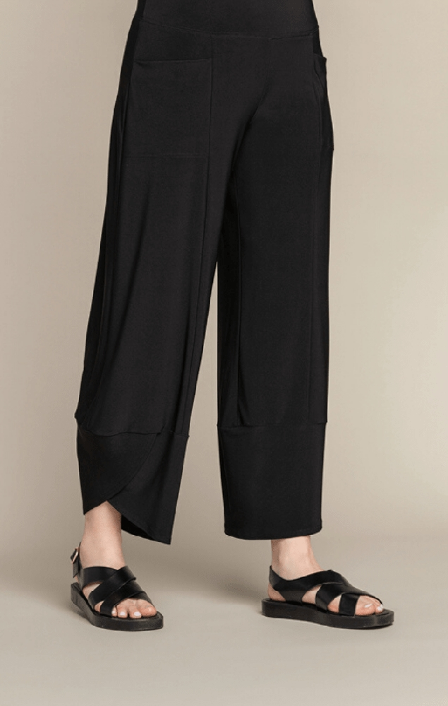 Sympli Womens The Look Pant Style 27189, Color Black