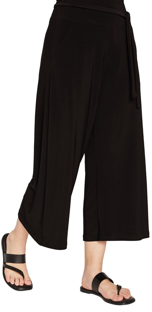 Sympli Womens Crop Wide Leg Trouser Style 27204, 3 Colors Available
