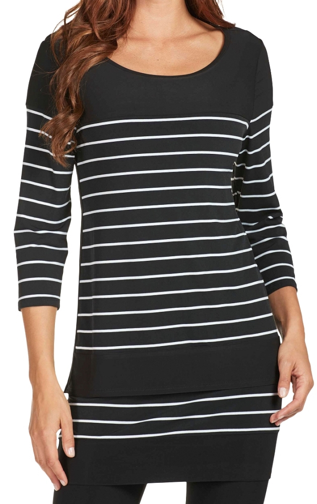 Frank Lyman Womens Striped Tunic Style 171400, 2 Colors Available