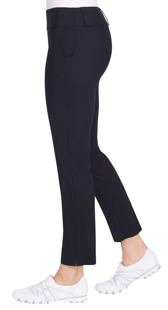 Lisette L Sport Essentials, Slim Ankle Pants, Style 8010 With Flex Pockets, 5 Colors Available