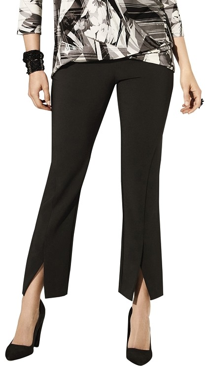 Lisette L. Ankle Flare Pants Style 33463 Victoria Stretch Crepe (2 Colors Available)