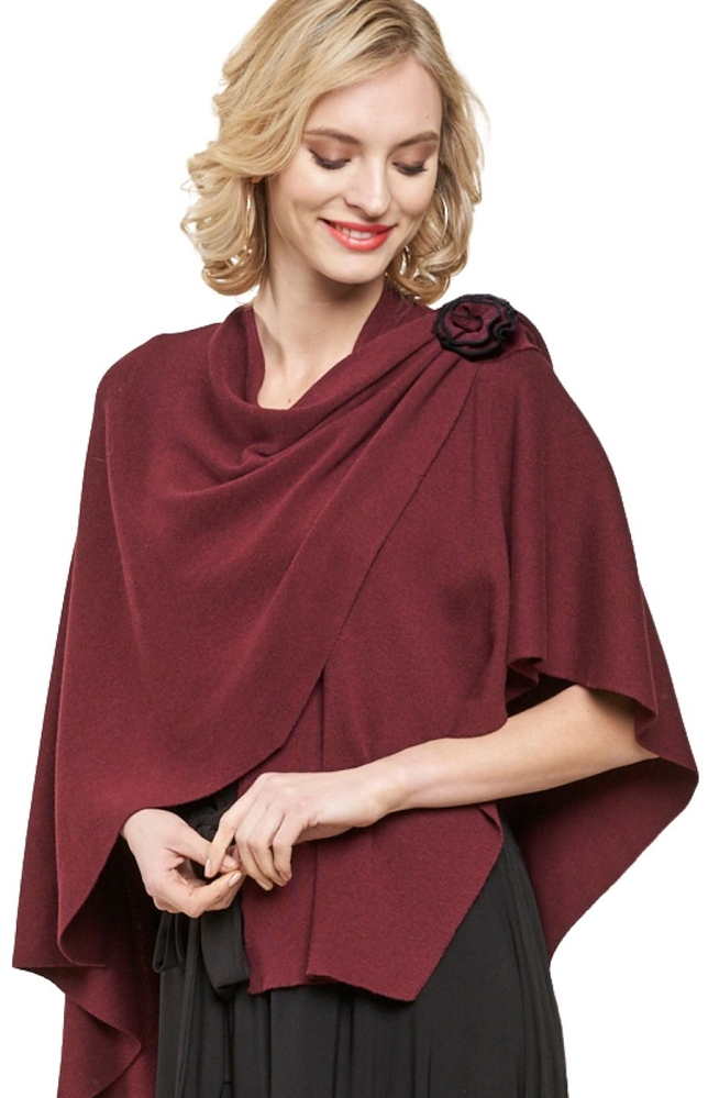 Parkhurst Canada, Embellished Floral Covi Wrap Style 22159, 4 Colors Available