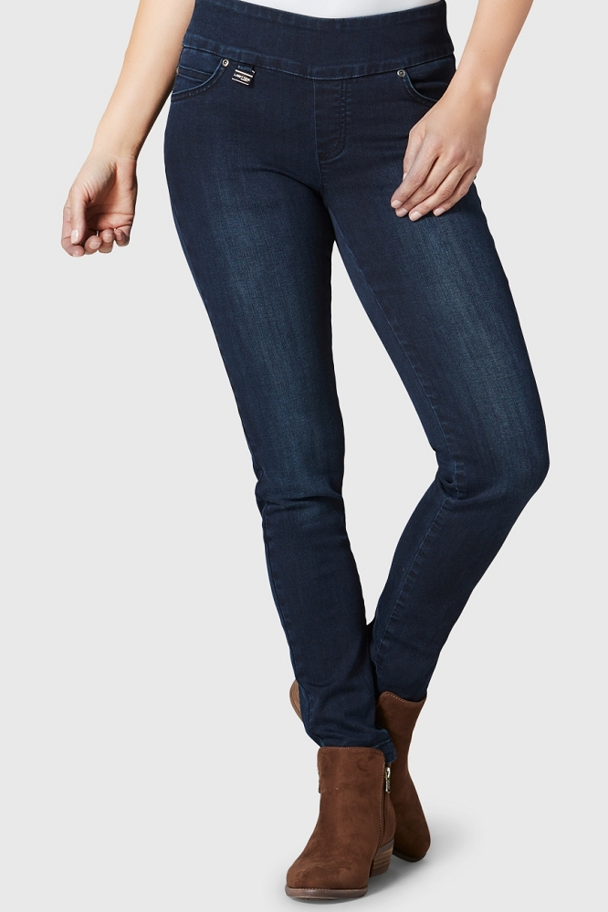 Lisette L. Skinny Leg Narrow Jeans Style 159796 Sylvia Denim, 2 Colors Available