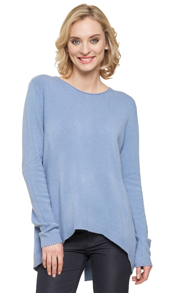 Parkhurst Knitwear, Daniella Pullover Sweater Back Buttons, Style 16504, 4 Colors Available