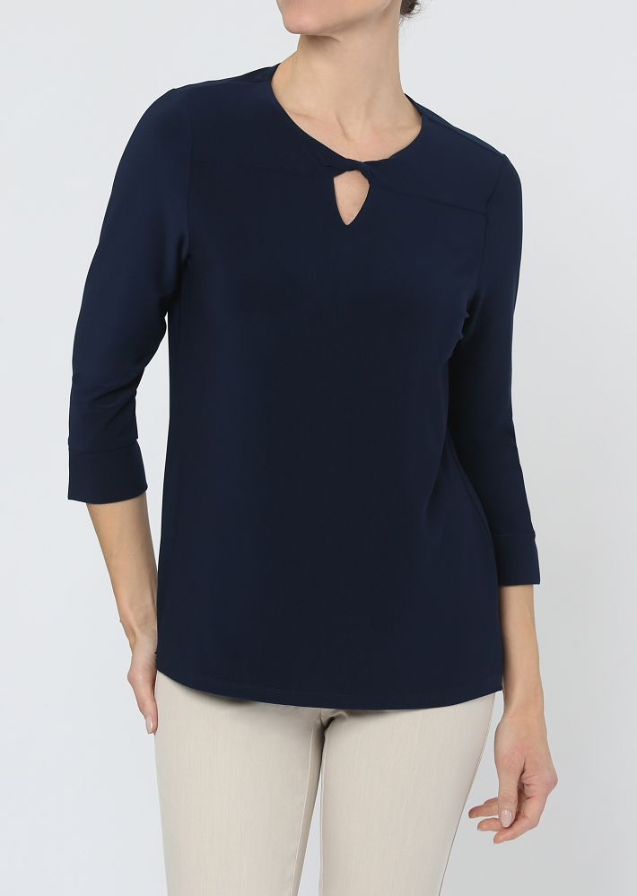 Lisette L. Tops Style 171141 Emma Jersey Knit, 5 Colors Available
