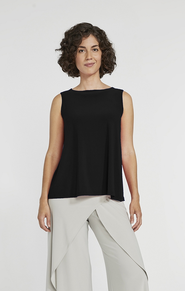 Sympli Womens Trapeze Tank Top Style 21155, + Colors Available