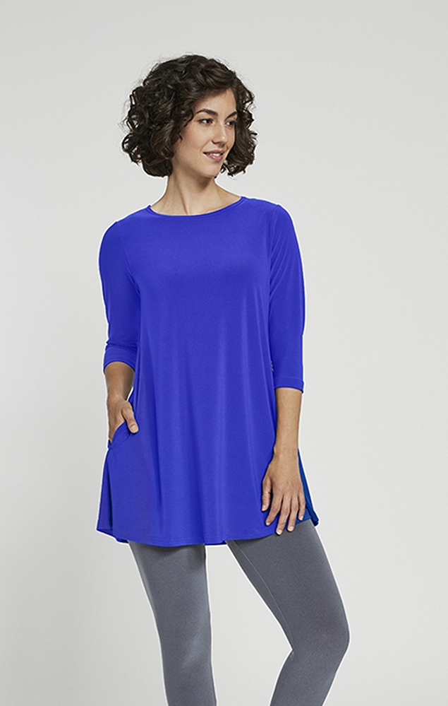 Sympli Trapeze Tunic Style 23155-2, 5 Colors Available