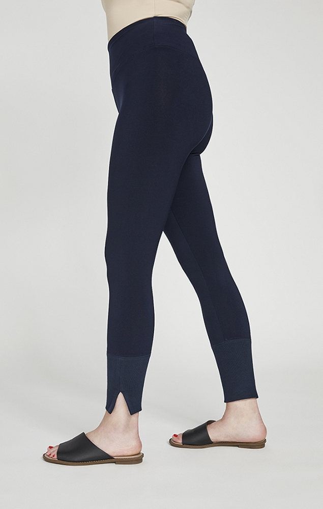 Sympli Motion Trim Cuff Legging Style 27220, 2 Colors Available