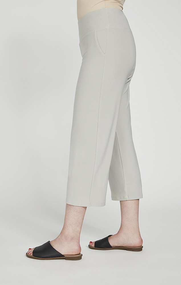 Sympli Straight Leg Crop Pant Style 27226, 4 Colors Available