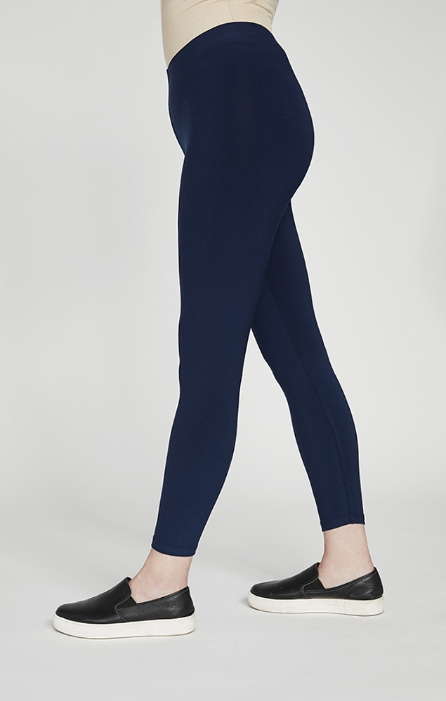 Sympli Womens Classic Legging Style 2742 Color Navy