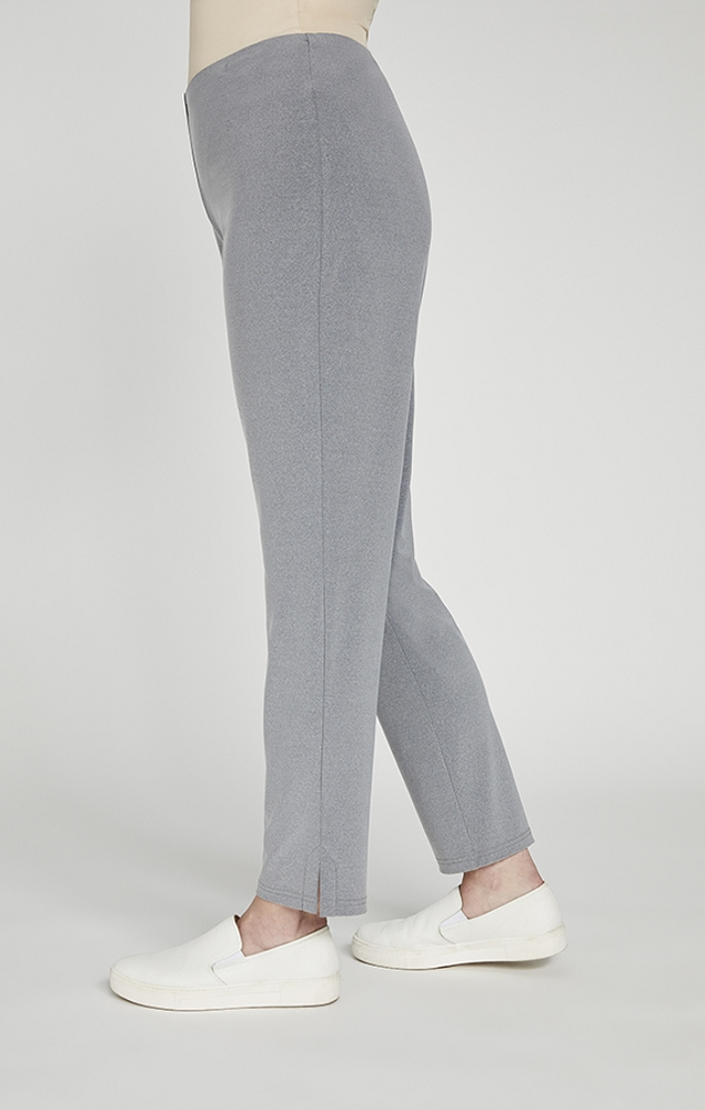 Sympli Narrow Ankle Pants Style 2748M Color Silver Melange, 28