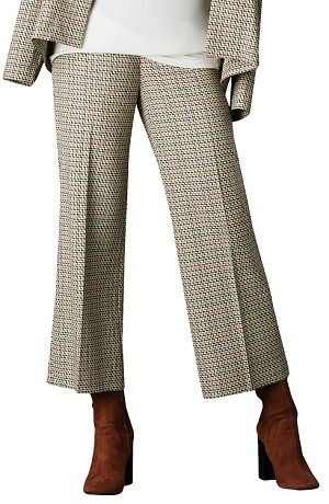 Lisette L Gaucho Pants Style 17925 Venice Check Color Multi Inseam 26""