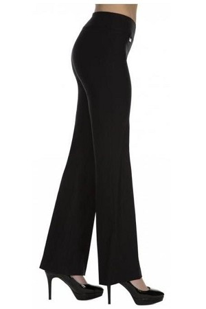 Lisette L Essentials Boot Cut Pants, Magical Lycra, Style 1635, Color Black