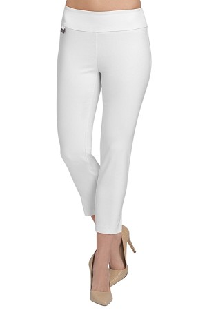 Lisette L Essentials, Thinny Crop Pants Style 26002 Jupiter Cotton Stretch (8 Colors Available)